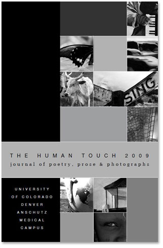 "The cover of ""The Human Touch"" anthology"