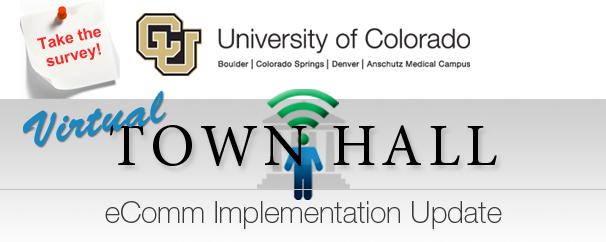 University of Colorado, eComm